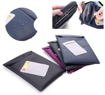 U-bop Zero Magnetic Velcro Fastened Case Purple - For Amazon Kindle Fire HD 7 inch