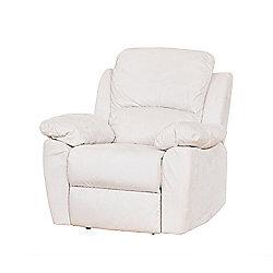 Sofa Collection Como Electric Recliner Armchair - 1 Seat - Cream