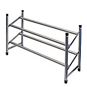 2 Tier Extendable Shoe Rack