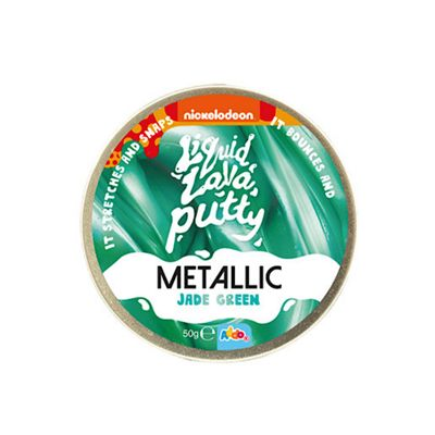 Nickelodeon Liquid Lava Putty Metallic Jade Green