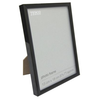 Basic Black Photo Frame 5 x 7