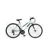 "Viking Manhattan Step Through 16"" Frame 700c Urban Trekking Hybrid Bike"