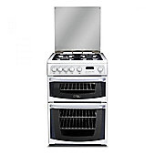 Hotpoint Gas Cooker with Gas Grill and Gas Hob, CH60GCIW - White