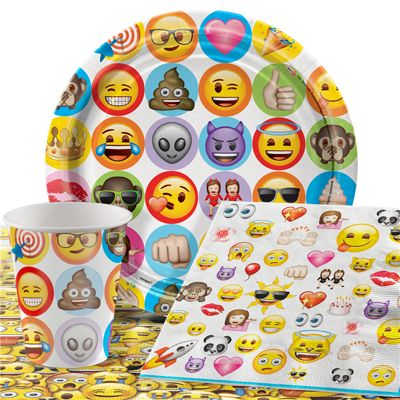 Emoji Party Pack - Value Party for 8