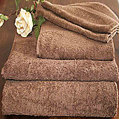Homescapes Turkish Cotton Chocolate Face Towel