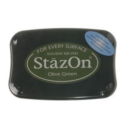 Stazon Ink Pads Olive Green