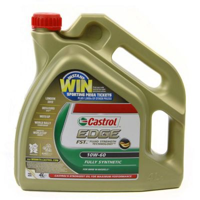 Edge Fully Synthetic 10W60 Engine Oil (4 Litre)