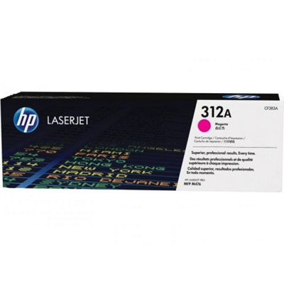 HP 312A (Yield 2700 Pages) Magenta Original LaserJet Toner Cartridge
