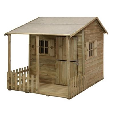 7 x 5 Rock Parsley Cottage Playhouse 7ft x 5ft (2.14m x 1.52m)