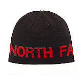 The North Face Reversible TNF Banner Beanie - Black