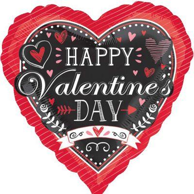 Valentine's HVD Chalkboard Standard Foil