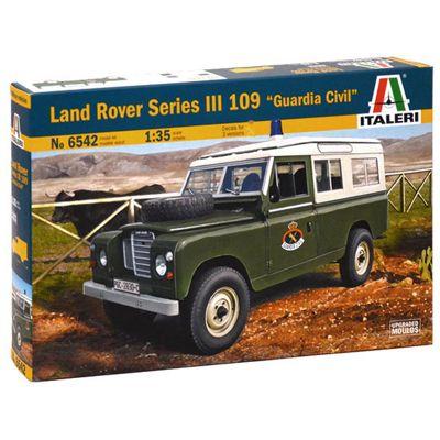 ITALERI 6542 Land Rover 109 Guardia Civil 1:35 Military Model Kit