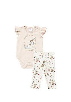 Disney Bambi Bodysuit and Leggings Set - Peach