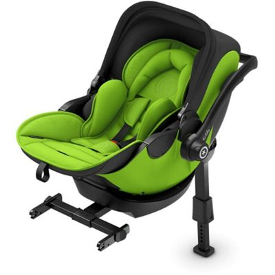 Kiddy Evo Luna i-Size 2 Car Seat & Base (Spring Green)