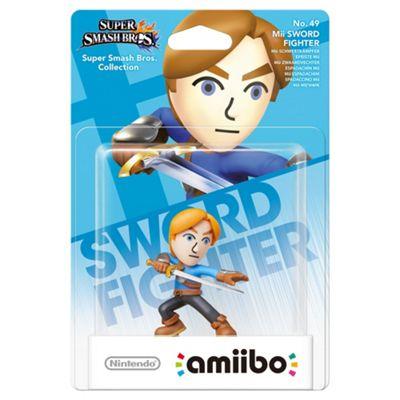amiibo Mii Swordfighter - Super Smash Bros. Collection