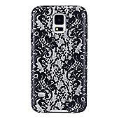 """Agent 18 SG5FX/46-LJ 5.1"""" Cover Black White mobile phone case for Samsung -"""