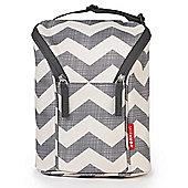 Skip Hop GRAB & GO Double Bottle Bag (Chevron)