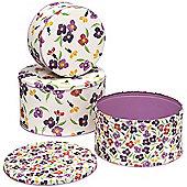 Emma Bridgewater Wallflower Set of 3 Cake Tins
