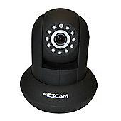 Foscam FI9821P PnP 720P HD Wireless Pan/Tilt IP Camera - Black