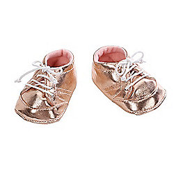 Baby Annabell Shoes - Gold