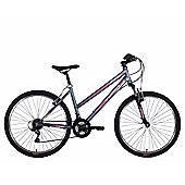 "Tiger Mistral 26"" Wheel Mountain Bike Graphite Pink"