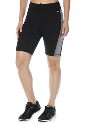 F&F Active Padded Cycling Shorts 12 Black
