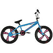 "Zombie Plague Blue BMX Bike 20"" Pink Mag Wheel"