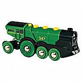 Brio Big Green Action Locomotiv