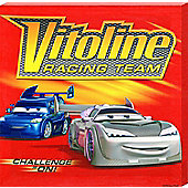 Cars: The Movie Disney Cars; The Movie The Vitoline Racing Team Canvas Print
