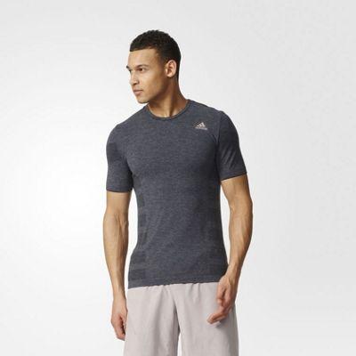 adidas Performance Mens Adistar Wool Primeknit T-Shirt - L