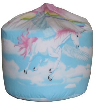Unicorn And Clouds Bean Bag