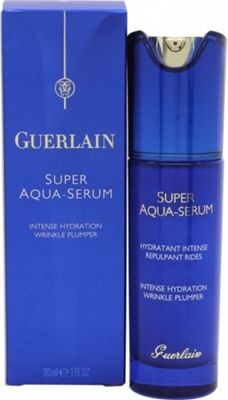 Guerlain Super Aqua Serum Intense Hydration Wrinkle Plumper 30ml