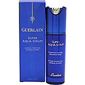 Guerlain Super Aqua Serum Intense Hydration Wrinkle Plumper 30ml