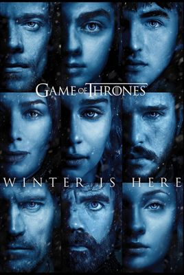 Game of Thrones Winter is Here Poster 61x91.5cm