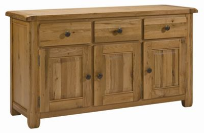 Kelburn Furniture Cherry Creek Oak Large Sideboard