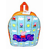 Peppa Pig 'Bicycle' Arch School Bag Rucksack Backpack