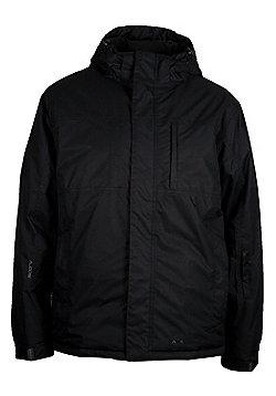 Boreal Mens Waterproof Breathable Taped Seams Snowboarding Skiing Ski Jacket - Black