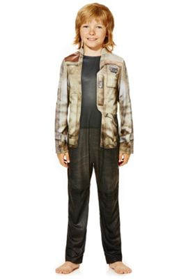 Star Wars Finn Fancy Dress Costume Multi 7-8 years