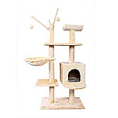Confidence Pet Executive Cat Kitten Tree Scratch Post Activity Centre Beige