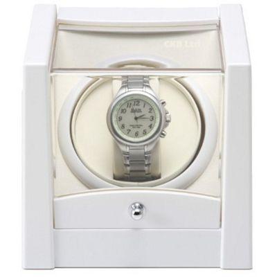 Time Tutelary Automatic Single Watch Winder White KA079W