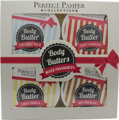 Perfect Pamper Gift Set 4x 50ml Body Butter