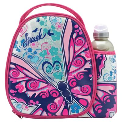 buy smash 3d butterfly lunch bag and water bottle set from. Black Bedroom Furniture Sets. Home Design Ideas