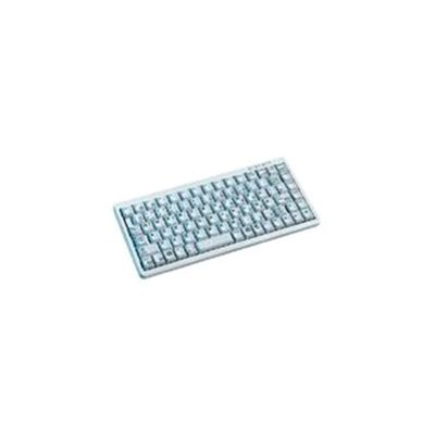 Cherry G84-4100 USB/PS2 Ultra-Low-Profile Compact Keyboard (Light Grey)