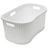 Addis 40L Rattan Hipster Laundry Basket