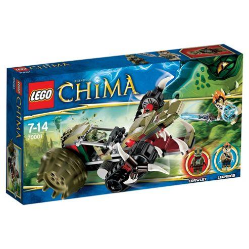 LEGO Legends of Chima Crawleys Claw Ripper 70001