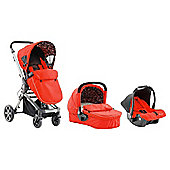 Baby Elegance Beep Twist Travel System, Red
