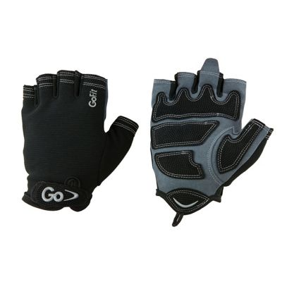 GoFit Men's Cross Training Glove Large Black