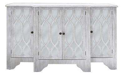 Vermont Washed Ash 4 Door Sideboard