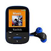 SanDisk Clip Sport Blue 8 GB MP3 Player