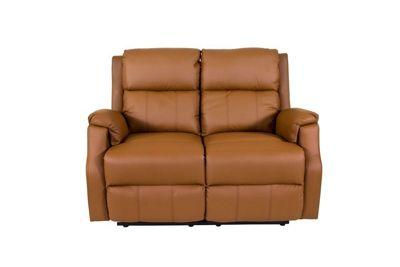Hadleigh 2 Seater Armchair Recliner in Cinnamon